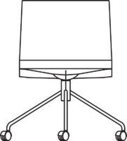 Medi chair, 5 castors