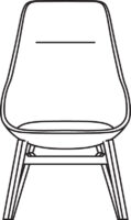 Wood High chair 532-86