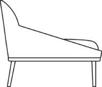Wood Sofa 531-36