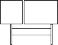 Sofa 3-seater singel, left