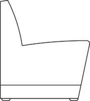 Sofa, straight