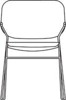 Armchair, black NCS S9000-N, qty < 250