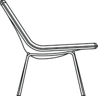 Easy chair low