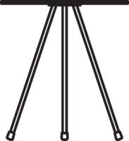 Table, Ø370 mm, höjd 350 mm