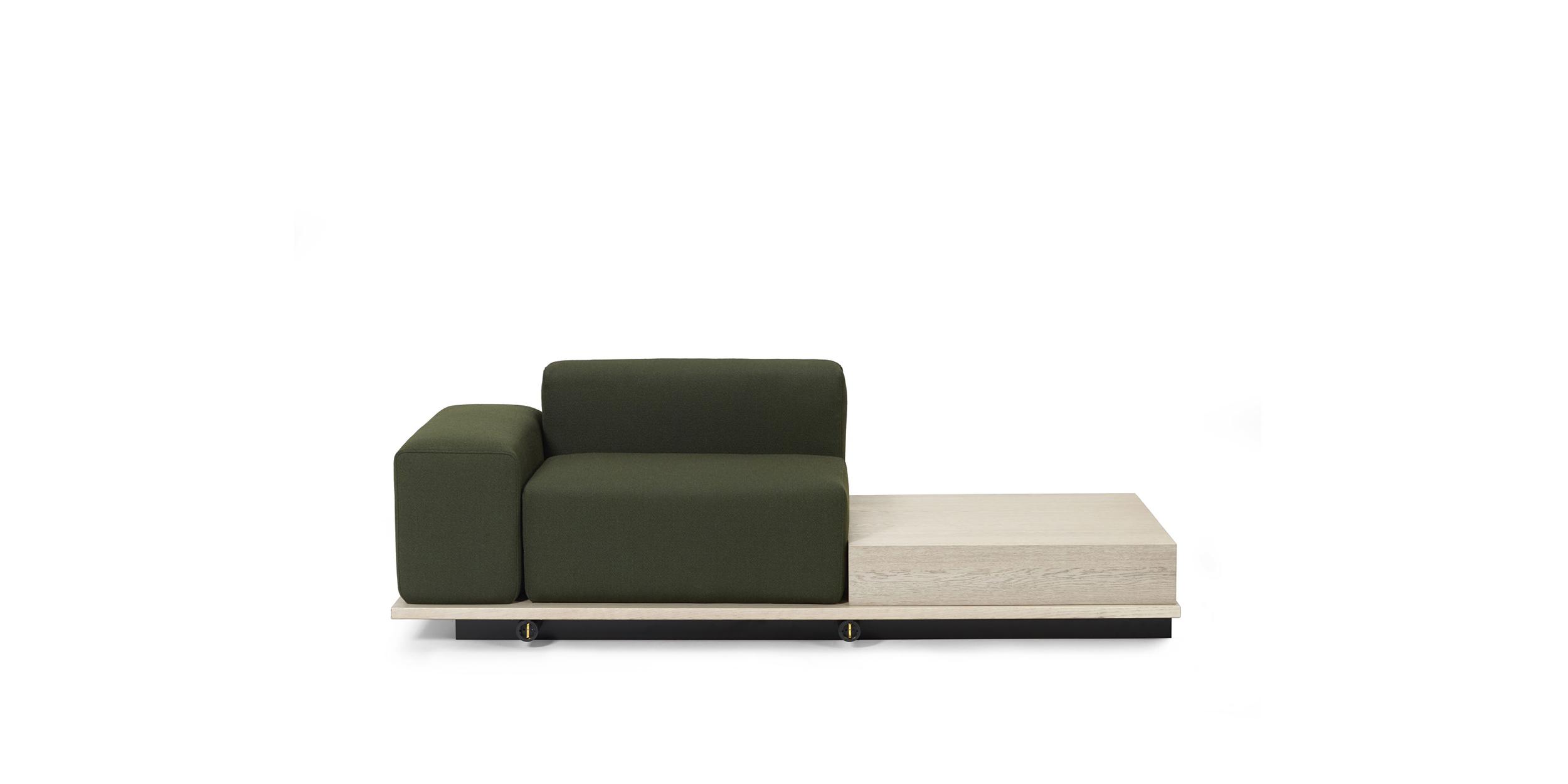 Meet, Armstöd/1-sits/bord by Fattorini+Rizzini+Partners