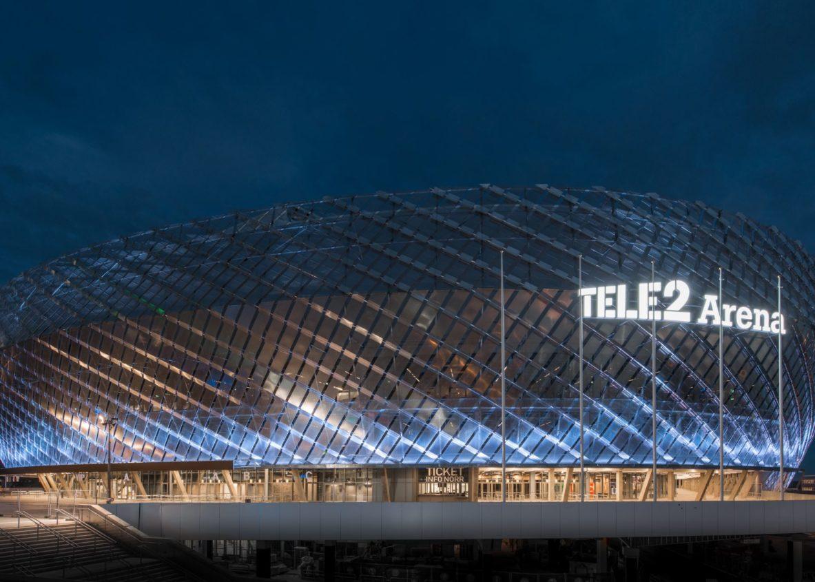 tele2 arena stockholm sweden offecct