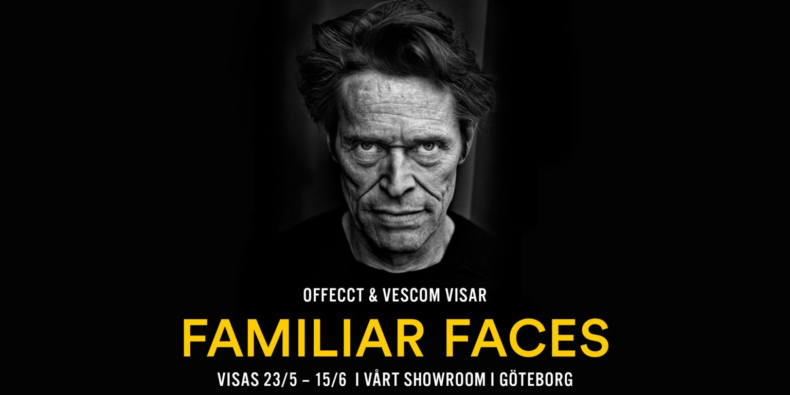 Familiar Faces exhibition Offecct Vescom